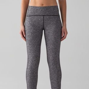 Heathered, ruched lululemon Pant
